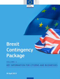 Brexit Contingency Package – KEY INFORMATION FOR CITIZENS AND BUSINESSES